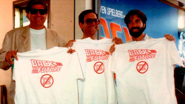 Sorry, fans. Robert Zemeckis and Bob Gale are standing by their no-Part IV stance they've always held and once used T-shirts to declare.