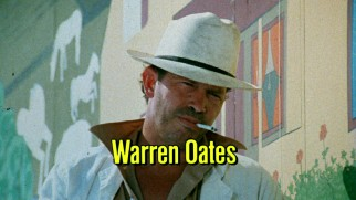 Warren Oates, an actor who worked with both Sam Peckinpah and Bill Murray, claims third billing in Badlands' original theatrical trailer.