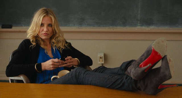 """Bad Teacher"" stars Cameron Diaz in the titular role as apathetic 7th grade language arts teacher Elizabeth Halsey."