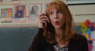 Squeaky clean, tightly-wound fellow teacher Ms. Amy Squirrel (Lucy Punch) becomes Elizabeth's nemesis.