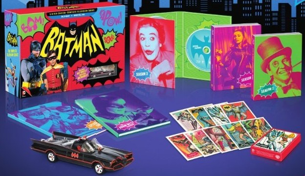 A look at the contents of Warner's Batman: Limited Edition Complete Television Series Blu-ray collection.