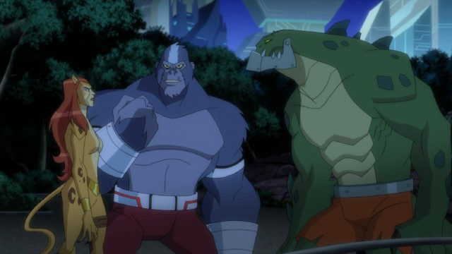 "Cheetah, Silverback, and Killer Croc are among the baddies doing The Penguin's bidding in ""Batman Unlimited: Animal Instincts."""