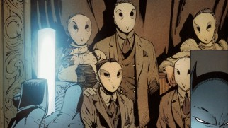 "The Mythic Court of Owls' role in the comics and the movie is explored in the dead serious ""Gotham City's Secret."""