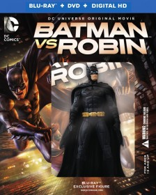 Batman vs. Robin (2015) Blu-ray + DVD + Digital HD Limited Edition Gift Set cover art -- click to buy from Amazon.com