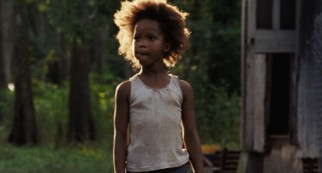 "Precocious six-year-old Hushpuppy (Quvenzhané Wallis) is the protagonist and narrator of ""Beasts of the Southern Wild."""