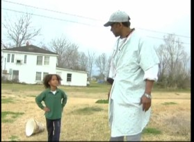 Quvenzhané Wallis and Dwight Henry are tested together in this audition tape.