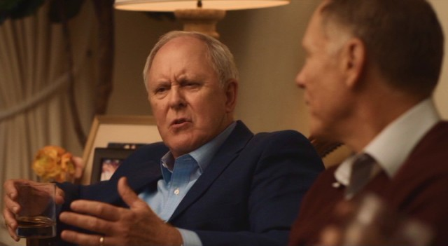 "John Lithgow gives a convincing performance as pompous, wealthy real estate developer Doug Strutt, Beatriz's foil in ""Beatriz at Dinner."""