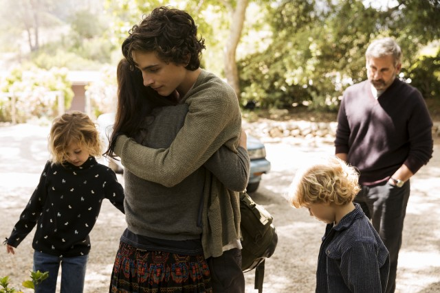 A frail Nic Sheff (Timothée Chalamet) is welcomed back with open arms after a stint in rehab.