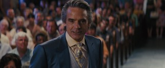The reclusive Macon Ravenwood (Jeremy Irons) drops in on a Gatlin town meeting to air some grievances.