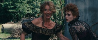 In case you missed it, Sarafine (Emma Thompson) and Ridley (Emmy Rossum) are two distinct dark casters from the same family tree.