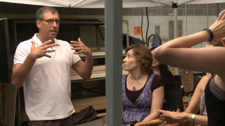 Screenwriter/director Richard LaGravenese does some directing in this behind-the-scenes short.
