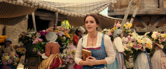 "Emma Watson plays Belle, the book-loving protagonist of Disney's 2017 live-action ""Beauty and the Beast."""