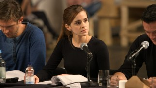 "Dan Stevens, Emma Watson, and Luke Evans participate in an ""Enchanted Table Read"" that includes song and dance rehearsals."