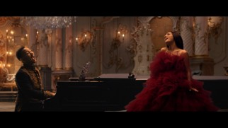 "John Legend and Ariana Grande put their stamp on the titular song in this lavish ""Beauty and the Beast"" music video."