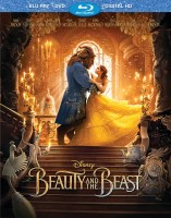 Beauty and the Beast (2017): Blu-ray + DVD + Digital HD combo pack cover art - click to buy from Amazon.com