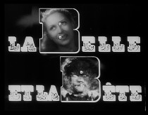 The Belle and the Bête claim the title's capital Bs in the film's original theatrical trailer.