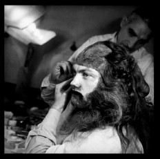 Jean Marais spent five hours every day getting transformed into the Beast, a process this and other stills gallery photos document.