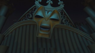 "... The villain of ""The Enchanted Christmas"" is crudely CG-animated church organ Forte"