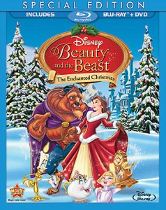 Beauty and the Beast: The Enchanted Christmas Special Edition Blu-ray + DVD cover art - click to buy combo pack from Amazon.com