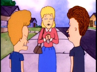 "Beavis and Butt-head reluctantly help Mrs. Swanson find her son in ""Stewart is Missing."""