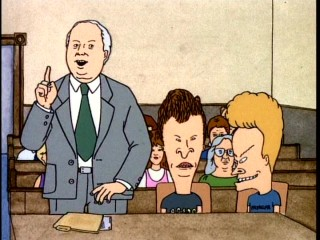 Beavis and Butt-head are the unlikely plaintiffs in a sexual harassment lawsuit.