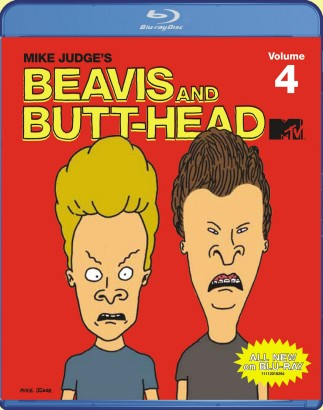 Beavis and Butt-Head Volume 4 Blu-ray cover art - click to buy from Amazon.com