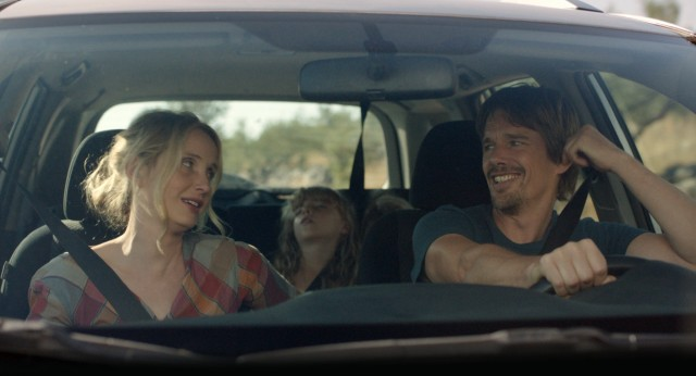 """Before Midnight"" finds Céline (Julie Delpy) and Jesse (Ethan Hawke) happy together with twin daughters on vacation in Greece, but you can expect some bumps in the road."