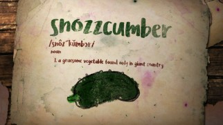"Snozzcumber is among the wacky terms defined in ""Gobblefunk: The Wonderful Words of The BFG."""