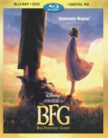 The BFG (2016): Blu-ray + DVD + Digital HD combo pack cover art - click to buy from Amazon.com