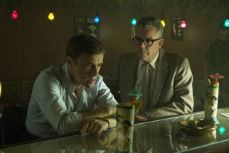 While Walter (Christoph Waltz) feeds his fictions to reporter and sometimes narrator Dick Nolan (Danny Huston)...