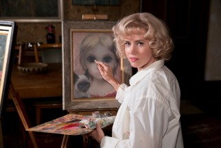 Margaret (Amy Adams) continues to produce her signature acrylic artwork in secret.
