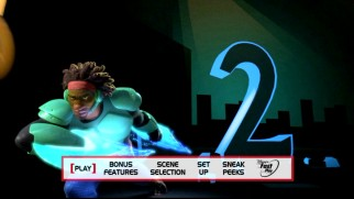 Wasabi appears second in the Big Hero 6 main menu's count-up.