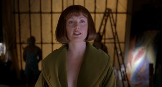 The artwork of The Big Lebowski's eccentric daughter Maude (Julianne Moore) has been commended as being strongly vaginal.