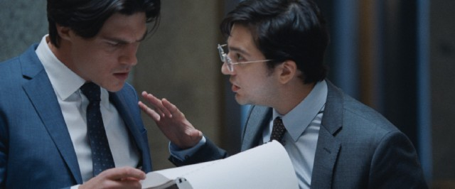 Ambitious young hedge fund managers Jamie Shipley (Finn Wittrock) and Charlie Geller (John Magaro) want to get in on the lucrative shorting action.