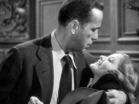 "Humphrey Bogart and Lauren Bacall were recurring co-stars and real-life spouses when they made the 1946 noir ""The Big Sleep."""