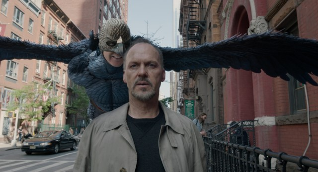 "In ""Birdman"", actor Riggan Thomson (Michael Keaton) is haunted by his famous film alter ego, the superhero Birdman."