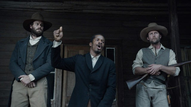 "Writer-director-producer Nate Parker stars as Nat Turner, a slave preacher who leads a revolt in ""The Birth of a Nation."""