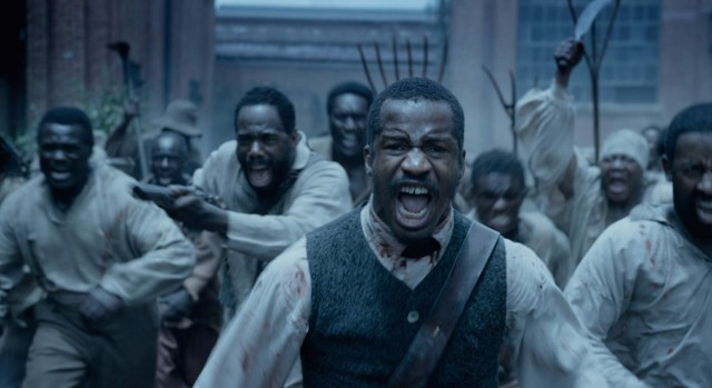 "Nat Turner (Nate Parker) leads his family slaves in a rebellion in ""The Birth of a Nation."""