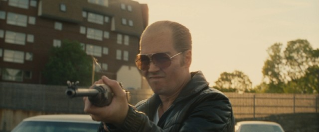 "Johnny Depp transforms himself to play Whitey Bulger, the notorious, ice cold crime boss of South Boston in ""Black Mass."""