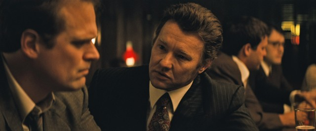 "FBI agent John Connolly (Joel Edgerton) gets almost as much attention as his disreputable hand-picked informant Whitey Bulger in ""Black Mass."""