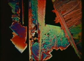 "The crystallization process is captured on film in Carroll Ballard's 1974 short ""Crystallization."""