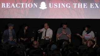 The Comic-Con filmmaker panel after the screening where the film's real title and nature were revealed is preserved in the documentary.
