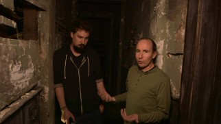 "Director Adam Wingard and production designer Tom Hammock show you around the ""House of Horrors."""