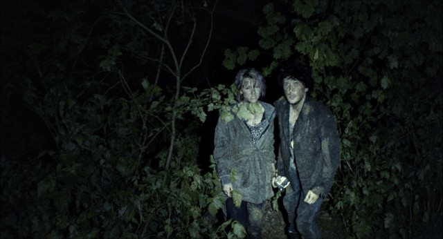 "A couple of Blair Witch believers resurface in the woods of Burkitsville, Maryland in 2016's ""Blair Witch."""