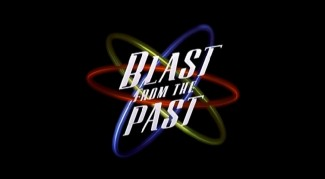 Blast from the Past's theatrical trailer utilizes the atomic logo of the film's one-sheet.