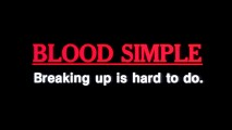"The theatrical trailer for ""Blood Simple"" ends with this tagline pun."
