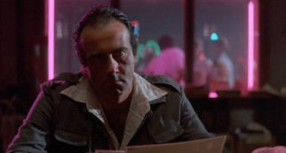 "Dan Hedaya plays enraged husband and bar owner Julian Marty, whose actions set forth the plot of ""Blood Simple."""