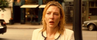 "Jasmine (Cate Blanchett) hears ""Blue Moon"", a song of personal significant to her, from a park bench in the film's haunting closing scene."