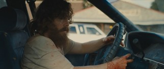 "The title ""Blue Ruin"" may very well refer to the aging 1990 Pontiac Bonneville, evidently inherited from his parents, that Dwight Evans (Macon Blair) drives."