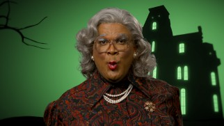 Naturally, Madea (Tyler Perry) gets to boo at the screen more than anyone else in &quot:Boo! from the Crew.""